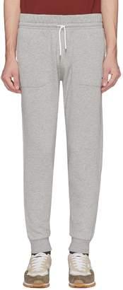 MAISON KITSUNÉ Fox logo appliqué sweatpants
