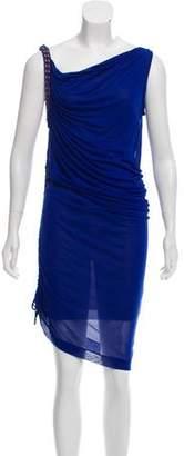 Jean Paul Gaultier Soleil Silk Midi Dress w/ Tags