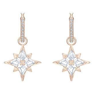Swarovski Women Crystal Dangle & Drop Earrings 5494337,White