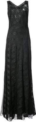 Zac Posen Adel geometric print gown