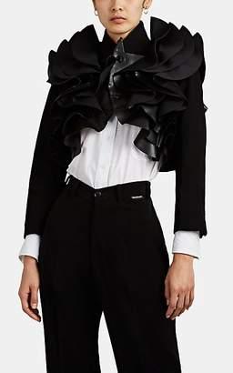 Noir Kei Ninomiya Women's Sculpted Ruffle Bolero Jacket - Black