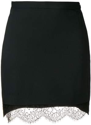 DSQUARED2 lace hem mini skirt