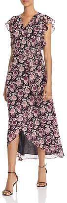Rebecca Minkoff Flossie Floral Maxi Wrap Dress