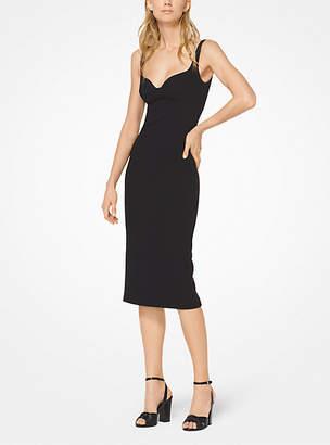 Michael Kors Stretch Boucle-Crepe Sheath Dress