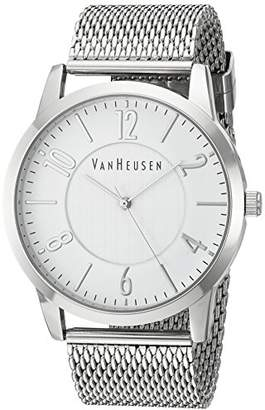 Van Heusen Men's Quartz Metal and Alloy Dress Watch