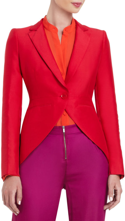 BCBGMAXAZRIA Noah Tailored Long-Sleeve Jacket