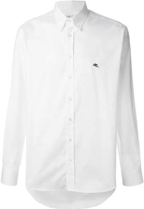 Etro printed cuff shirt