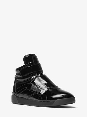 MICHAEL Michael Kors Addie Patent Leather High-Top Sneaker