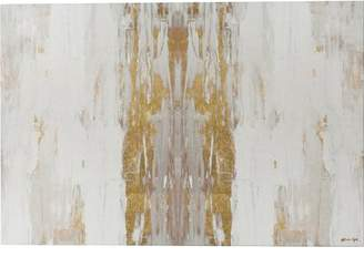 Willa Arlo Interiors 'Sensation White Abstract Art' Wrapped Canvas Print Format: Canvas,