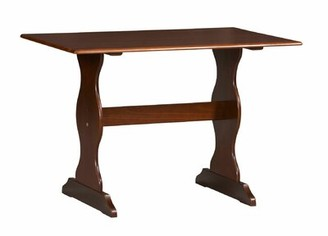 August Grove Aliana Solid Wood Dining Table August Grove
