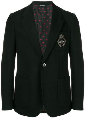 Dolce & Gabbana Milano stitch blazer