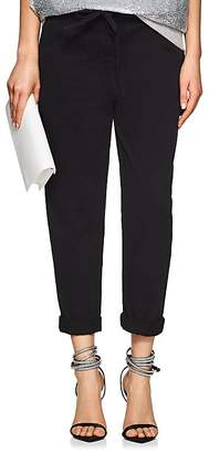 Robert Rodriguez Women's Cotton Twill Crop Pants