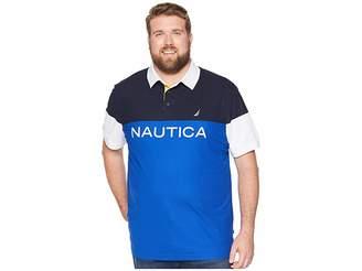 Nautica Big Tall Blocked Polo Shirt