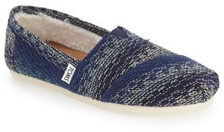 Women's Toms 'Classic Knit' Slip-On $58.95 thestylecure.com