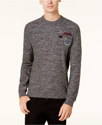 American Rag Men's Patches Sweater, Created for Macy's