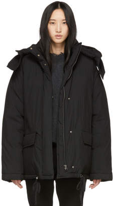 Helmut Lang Black Down Puffer Jacket