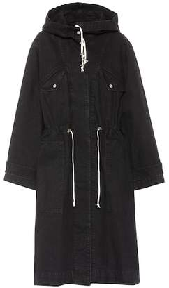 Etoile Isabel Marant Isabel Marant, Étoile Lander cotton hooded trench coat