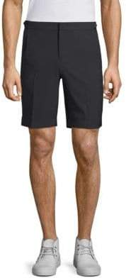 Solid Homme Tailored Wool Shorts