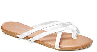 White Selene Sandal $9.95 thestylecure.com