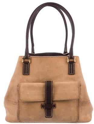 Loro Piana Suede Medium Globe Bag