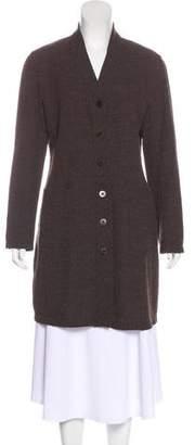 Giorgio Armani Wool Longline Cardigan