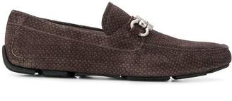 Salvatore Ferragamo Gancini bit driving loafers