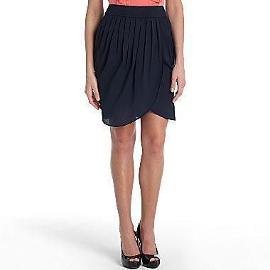 Mng by Mango® Faux Wrap Skirt