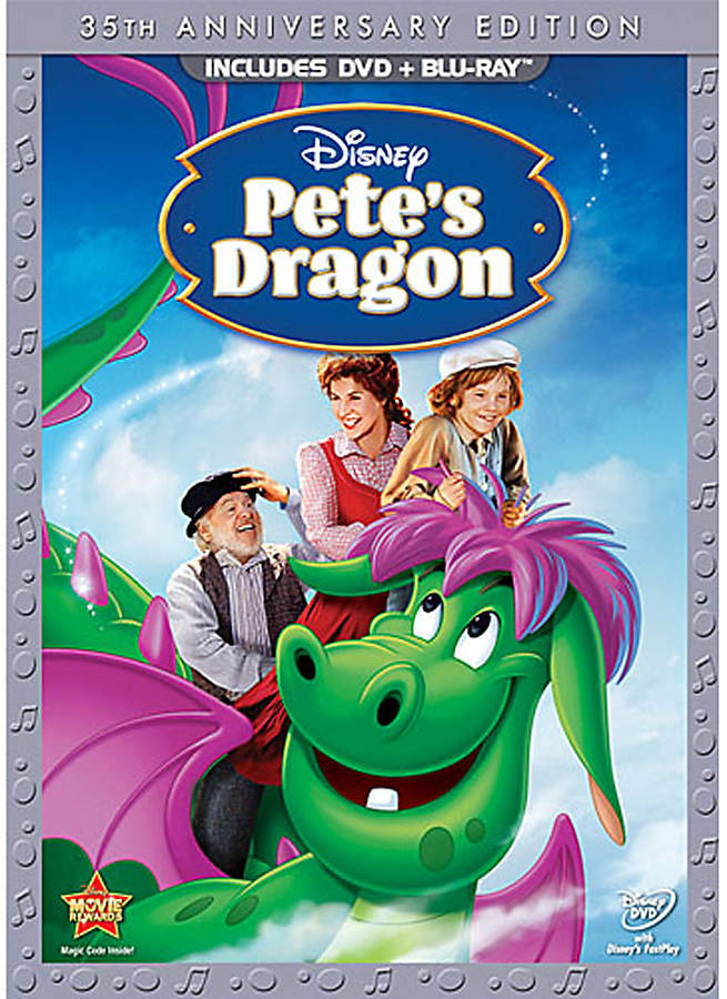 Disney Pete's Dragon DVD and Blu-ray Combo Pack - 35th Anniversary Edition