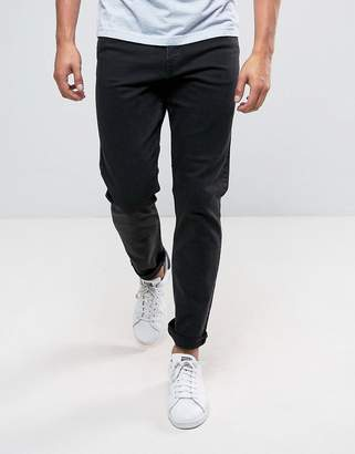 Weekday Sunday Tapered Fit Jeans Tuned Black