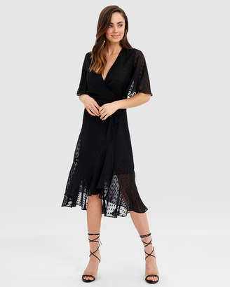 Forcast Maisie Wrap Dress