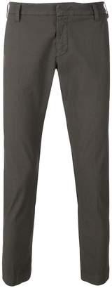 Entre Amis slim-fit ankle grazer trousers