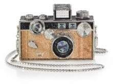 Judith Leiber Couture Swarovski Crystal Camera Minaudiere