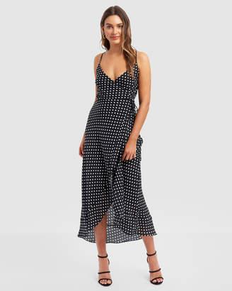 Forcast Kodie Wrap Dress