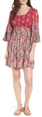Raga Alice Bell Sleeve Babydoll Dress