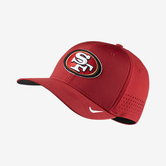 Nike Swoosh Flex (NFL 49ers) Fitted Hat $34 thestylecure.com