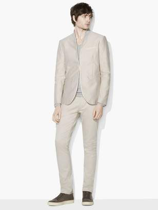 John Varvatos Hook & Bar Short Shawl-Collar Jacket