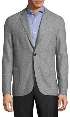 Eleventy Modern-Fit Two-Button Jacket