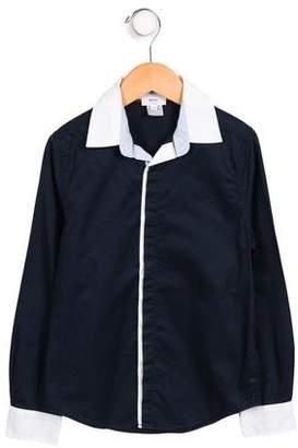 HUGO BOSS Boss by Boys' Button-Up Shirt