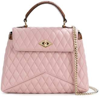Ballantyne quilted shoulder satchel