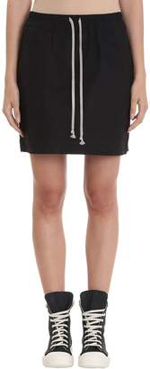 Drkshdw Black Kilt Skirt