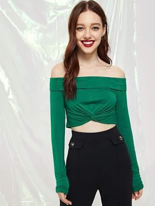 125180836f43e6 Green Off Shoulder Women s Tops - ShopStyle