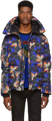 Kenzo Grey Muticolor Indonesian Flower Jacket