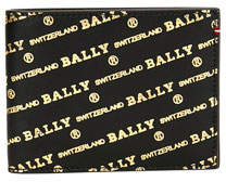 Bally Men's Bevye Logo-Print Leather Bi-Fold Wallet