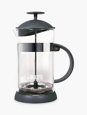 Bialetti 4 Cup French Coffee Press, Grey, 1L