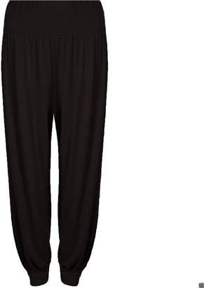 Glamorous Fashion Women's Ladies Plain Hareem Trouser XXXL