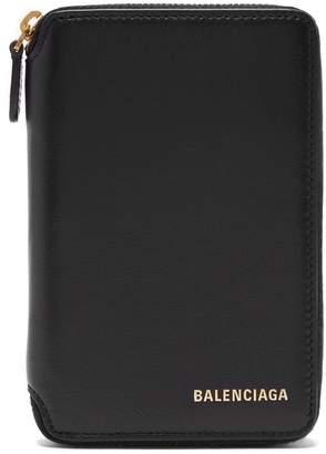 Balenciaga Ville leather wallet