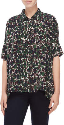 Gerard Darel Camo Pocket Shirt