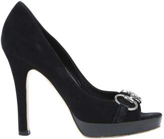 Gucci Black Suede High heel