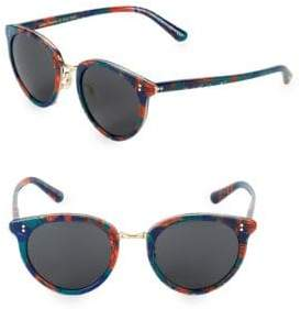 Oliver Peoples 50MM Oval Sunglasses