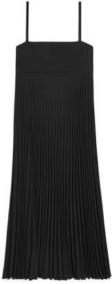 Arket Pleated Crepe Dress